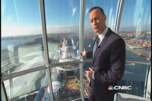 Touring the $1 billion Quantum of the Seas