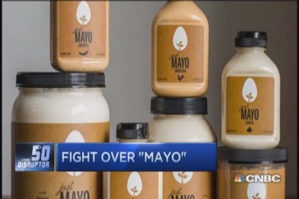 Must 'mayo' have eggs? Hampton Creek vs. Unilever