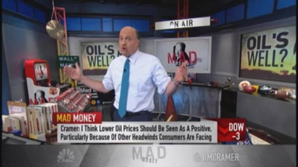 Cramer: How to view lower oil