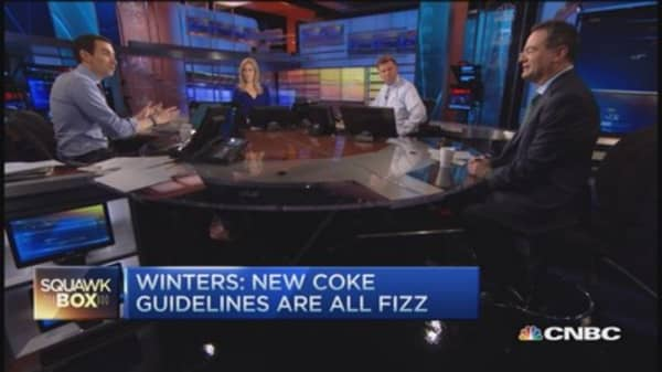 Coke 'gamed the system': Winters