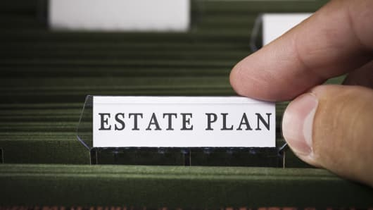 Estate planning personal finance