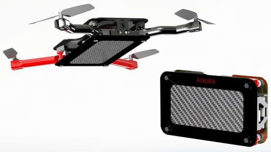 The Anura pocket-size drone.