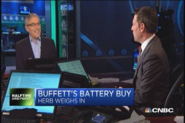 Why Buffett bought Duracell