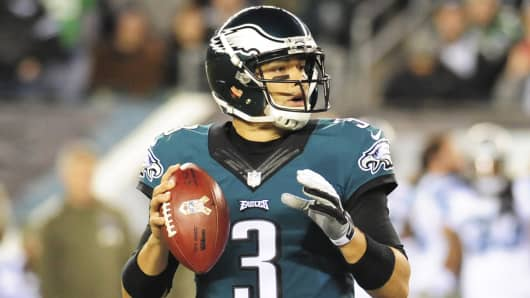 Mark Sanchez of the Philadelphia Eagles