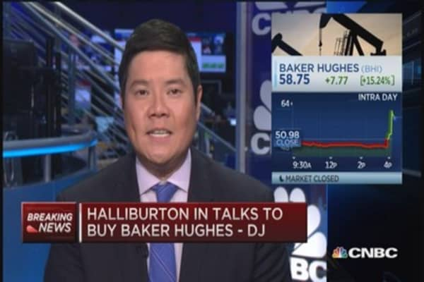 Pro: Think Halliburton, Baker Hughes deal will happen