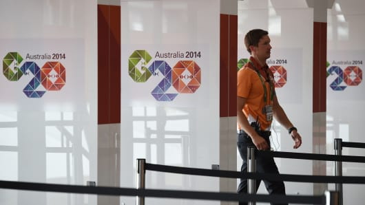 Media centre ahead of the G20 Summit in Brisban