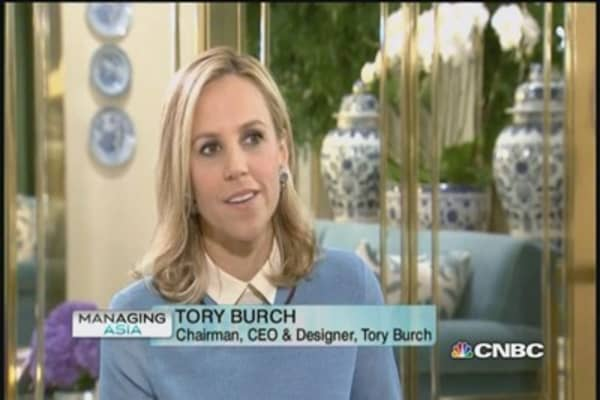 Tory Burch: Expand in China slowly, strategically