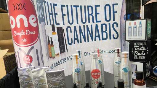 Entrepreneurs gathered in Las Vegas for the Marijuana Business Conference and Expo in November 2014.