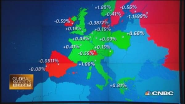 Europe: Germany & Greece escape recession
