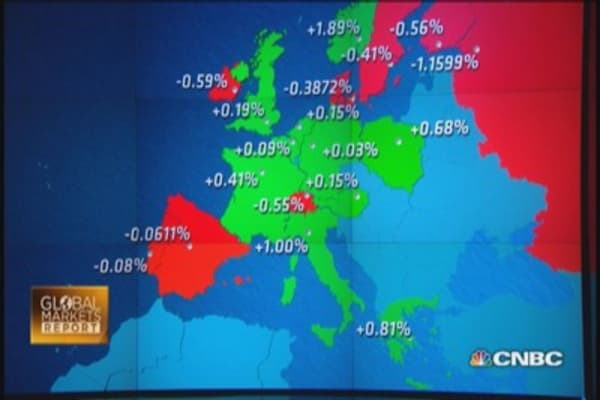 Europe: Germany & Greece escape recession