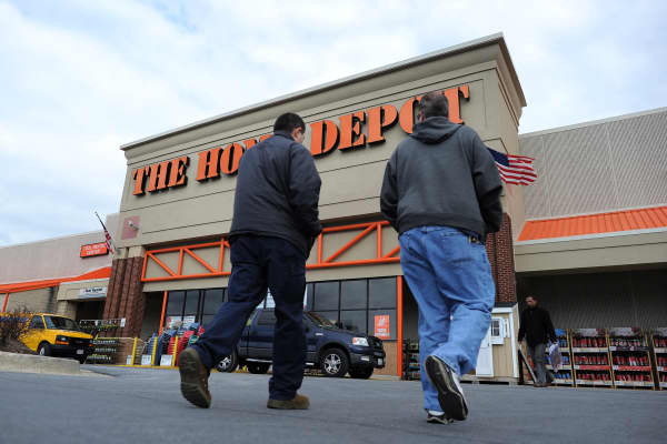 Home Depot shares drop on fears it may no longer be Amazonproof