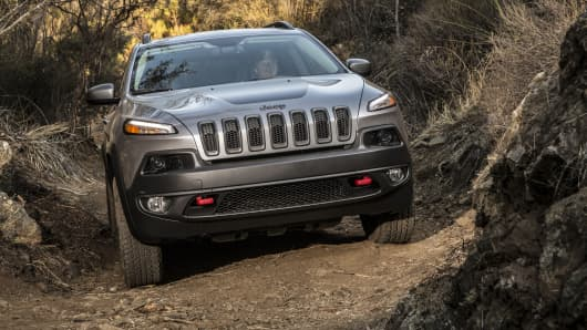 The 2014 Jeep Cherokee Trailhawk.