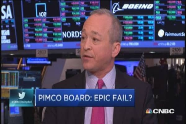 Pimco bonuses: Epic fail by board?