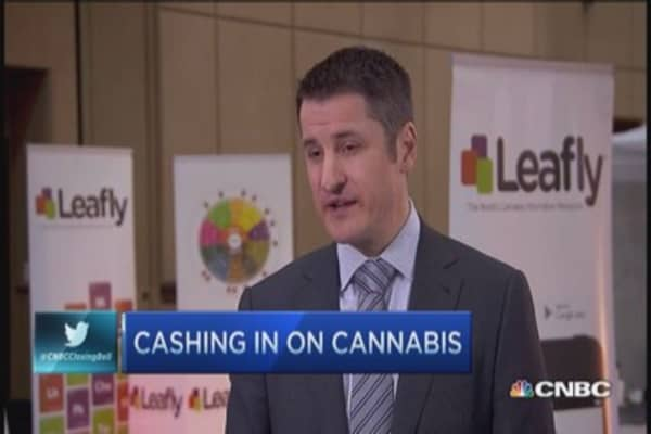 PE looks to cash in on cannabis