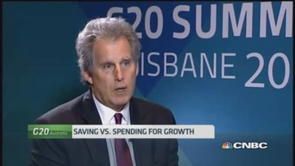 IMF's Lipton: G-20's growth agenda is a 'good task'