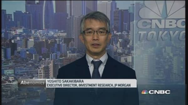 Japan Q3 GDP is 'shockingly weak': JP Morgan