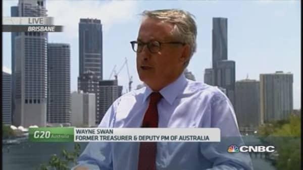 Proud of Australia's achievements at G-20: Swan