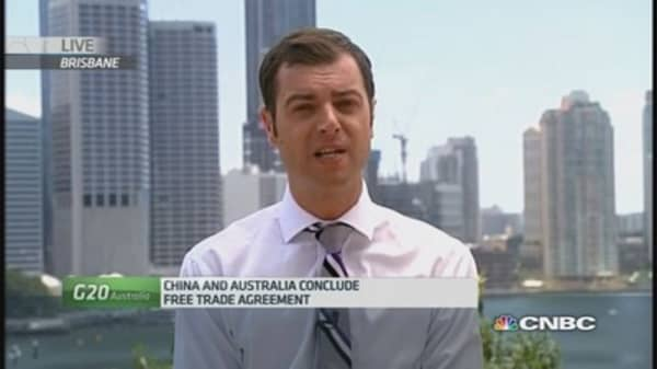 Australia and China to sign major trade deal
