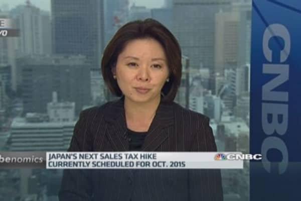 Will Japanese recession spark a snap election?