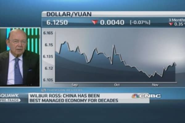 China is the best managed economy: Wilbur Ross