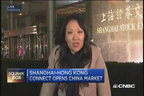Shanghai-Hong Kong launch historic Stock Connect