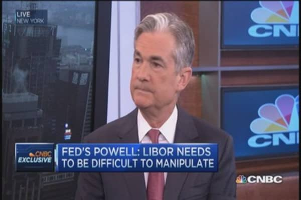 LIBOR fixed and better: Fed's Powell