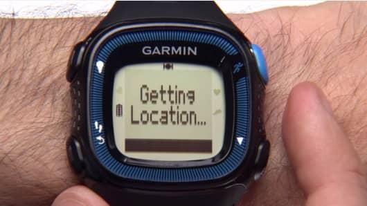 Garmin Forerunner 15 watch