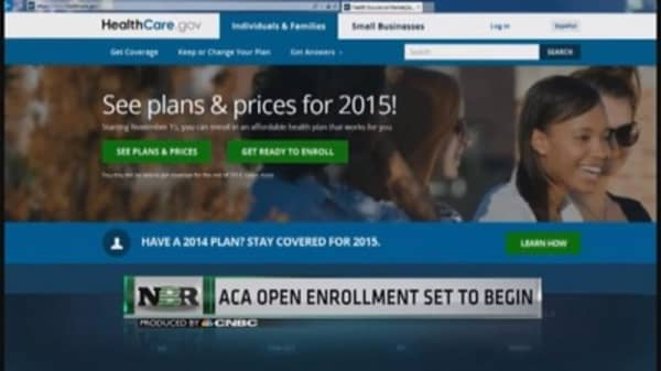 ACA open enrollment set to begin