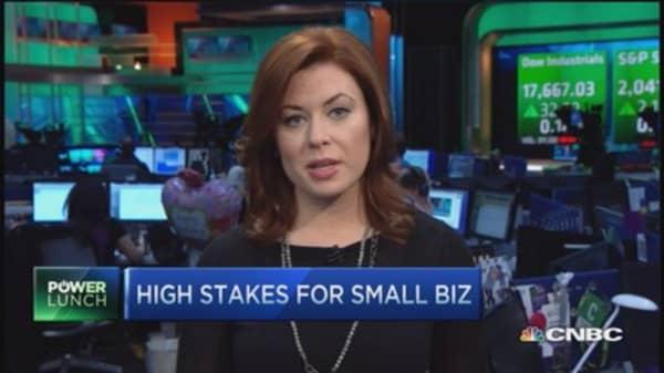 Top worries among small companies
