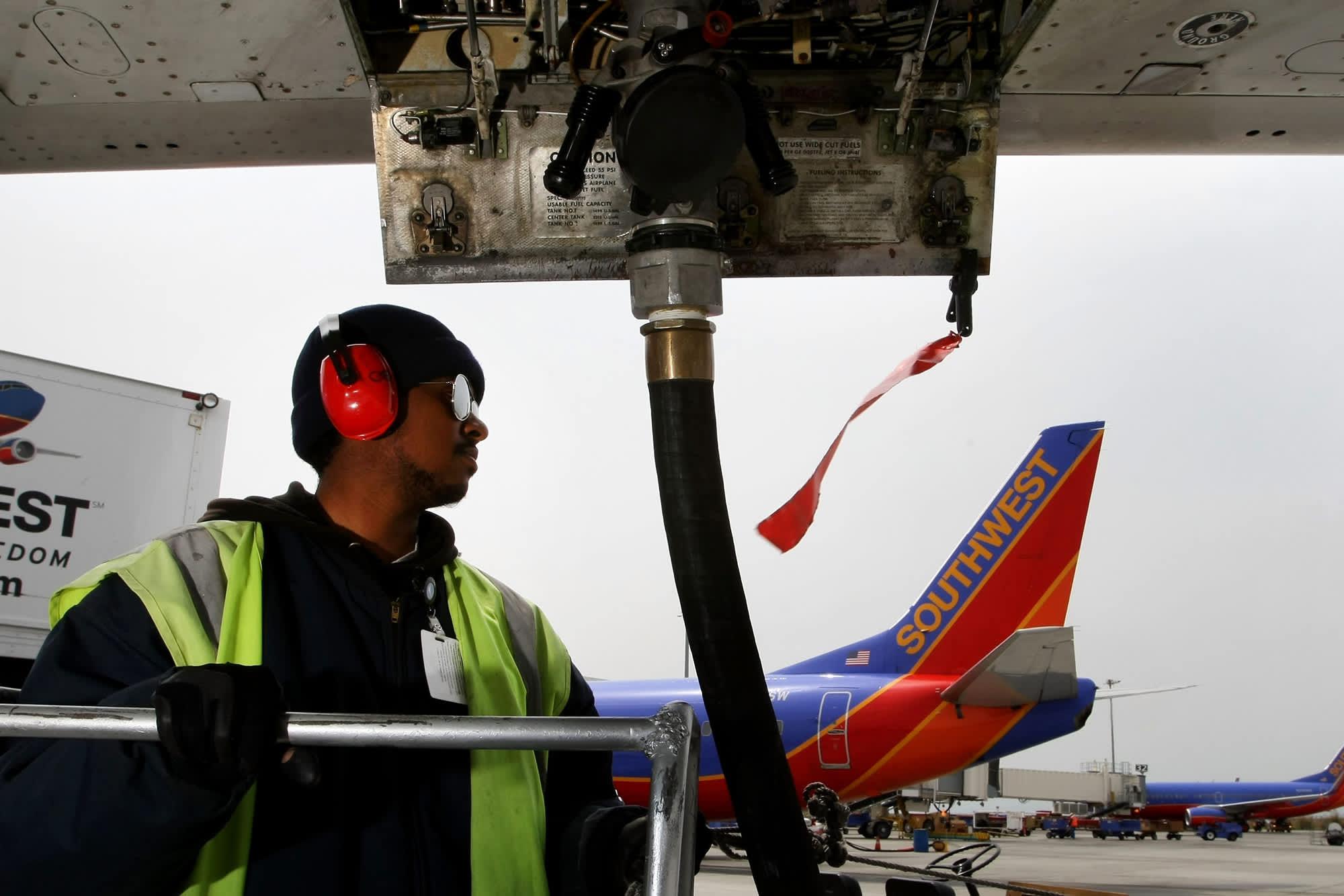 Southwest Airlines reports record quarterly profit, but misses estimates