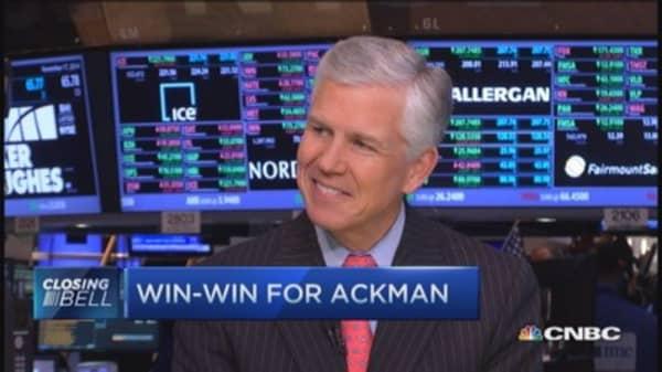 Ackman win-win