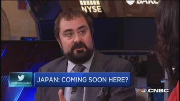 Does Japan prove QE doesn't work?