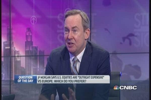 Why HSBC prefers Europe to US stocks