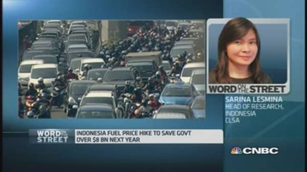 Who benefits from Indonesia's fuel subsidy cut?