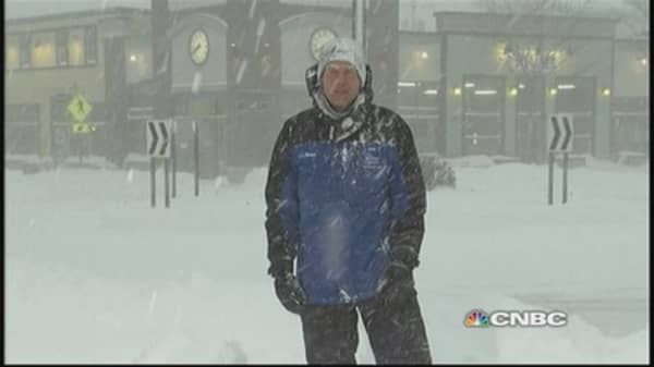 Big snowstorm bears down on Buffalo