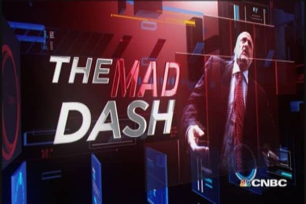 Cramer's Mad Dash: Zoetis' buyback