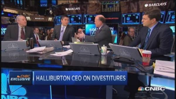 Halliburton's CEO on antitrust opposition