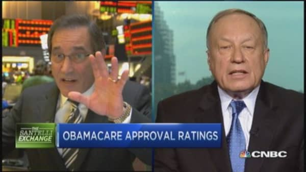 Santelli Exchange: Monitoring Obamacare enrollment