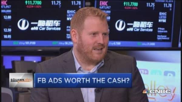 Do Facebook ads deliver value?