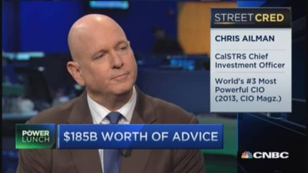 CalSTRS CIO: Stay invested