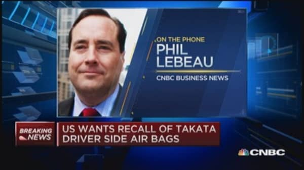 NHSTA seeking more info on Takata air bags