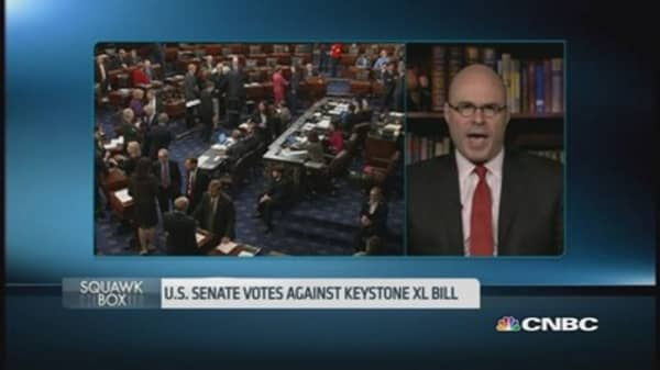 US Senate blocks Keystone bill - what's next?