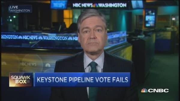 Senate rejects Keystone by one vote