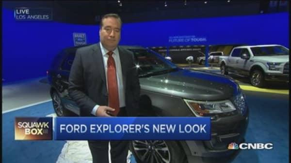 Ford Explorer unveil