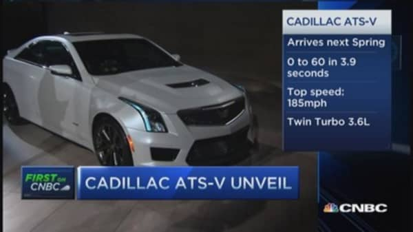 GM unleashes new Cadillac ATS-V