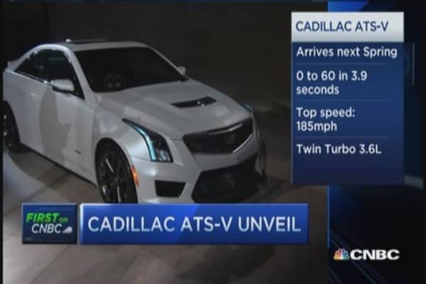 GM unleashes new Cadillac ATS-V