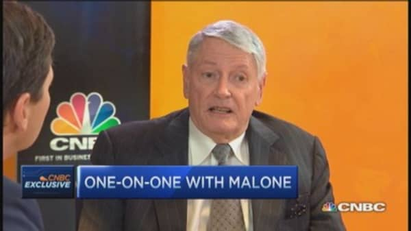 John Malone: Internet use exploding, some has to pay