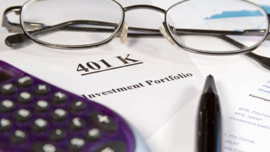 401 (k) portfolio documents