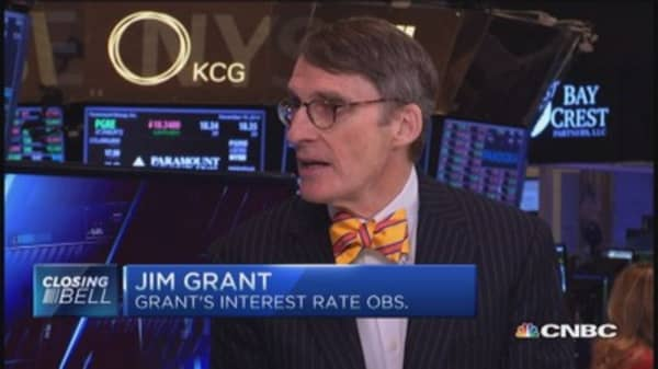 JIm Grant's telling sign from the Fed