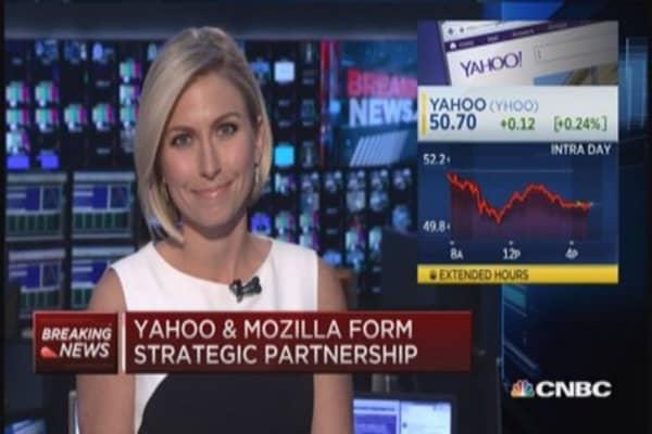 Yahoo and Mozilla's strategic partnership